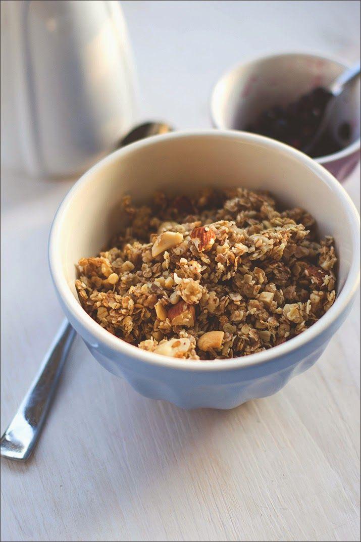 Honig-Nuss-Granola