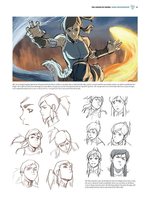 See The Legend Of Korra Come To Life In This Gorgeous New Art Book Avatar The Last Airbender Art Book Art Concept Art Characters
