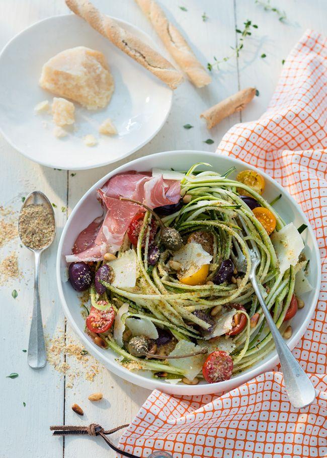 Recette : la salade de pâtes healthy / Healthy food : pasta and vegetable salad