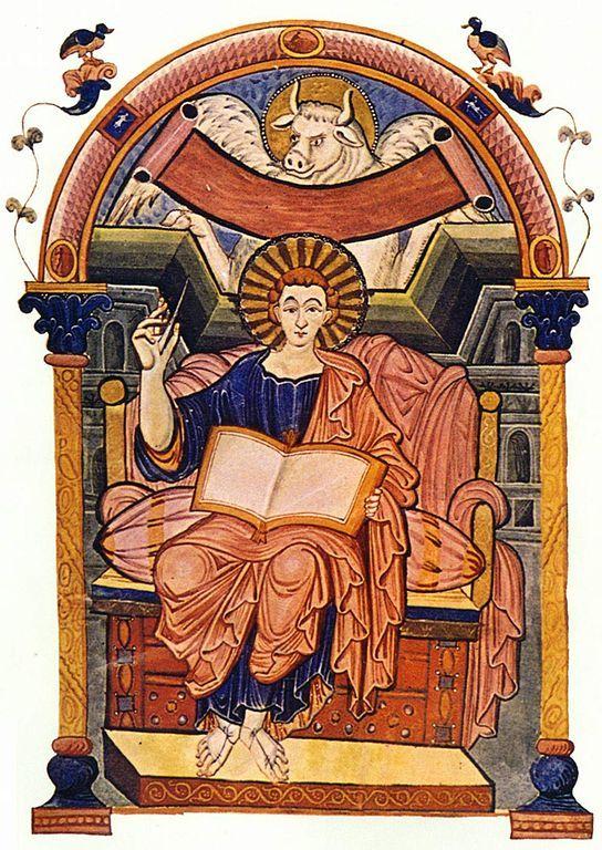 Evangelario de San Lucas, Mestro de Ada / Escuela de Metz