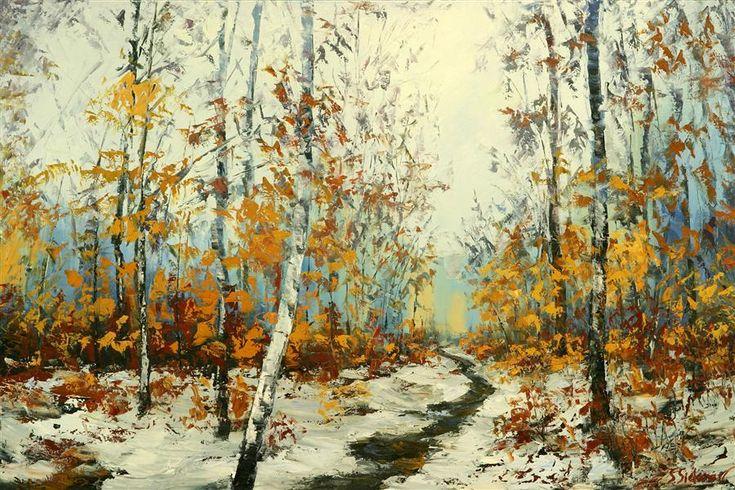 Original art for sale at wintertime by for Original artwork for sale online