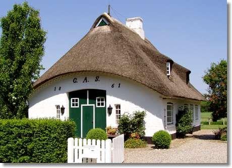 Sieseby Reetdachhaus von 1861 Reetdachhaus, Haus
