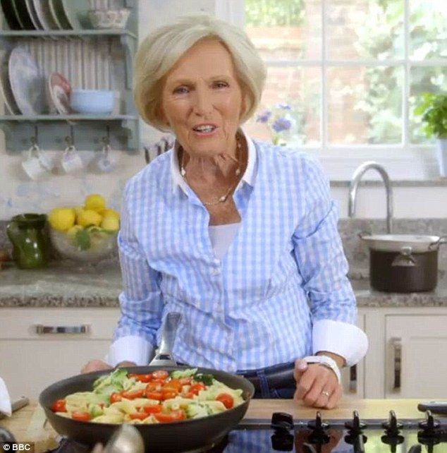 Mary Berry made bacon and pesto pasta on Foolproof Cooking last night with a quick recipe ...