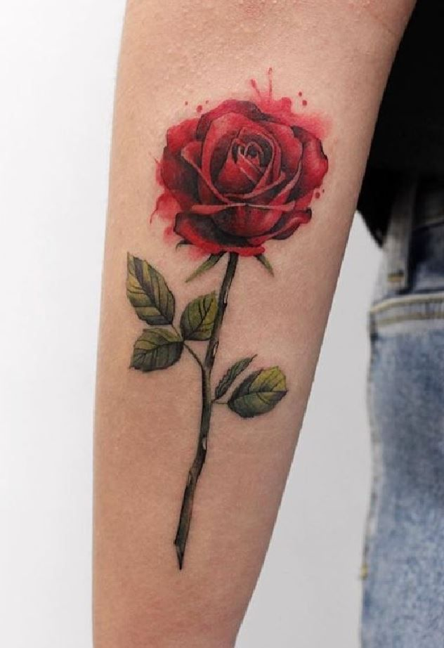 100 The Best Tattoos Ever Listorical Rose Tattoos Single