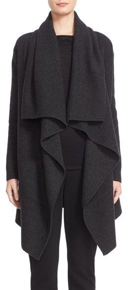 Check out this must-have Nordstrom Signature and Caroline Issa Cashmere Waterfall Cardigan we just cannot resist!