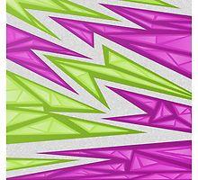 Voxel Triangles - CS:GO Skin (Purple-Green) by Zurex