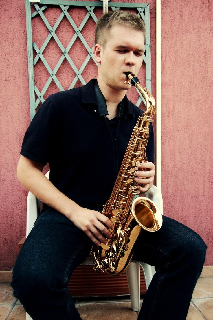 Tharon the saxophonist, Milano Italy