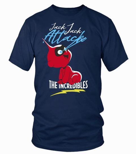 9b23499ae Disney Pixar Incredibles 2 Jack Jack Attack Premium T-Shirt Graphic Premium  T-shirt