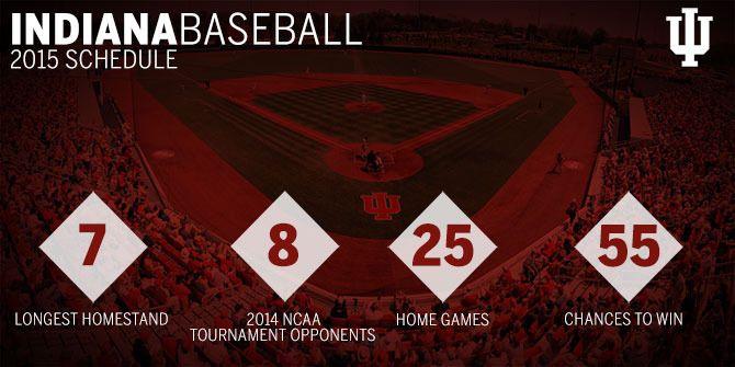 2015 Indiana university baseball | 2015 IU BASEBALL SCHEDULE RELEASE