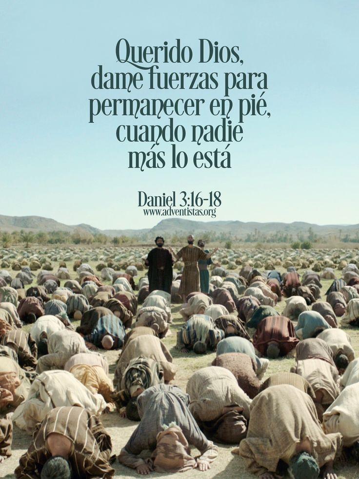 Dan 3:16 AL 19 ... Sadrac, Mesac y Abed-nego respondieron al rey Nabucodonosor, diciendo: No es necesario que te respondamos sobre este asunto.   He aquí nuestro Dios a quien servimos puede librarnos del horno de fuego ardiendo; y de tu mano, oh rey, nos librará.    Y si no, sepas, oh rey, que no serviremos a tus dioses, ni tampoco adoraremos la estatua que has levantado.