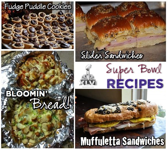 Recipes for Super Bowl Sunday! Slider Sandwiches, Bloomin bread and more!