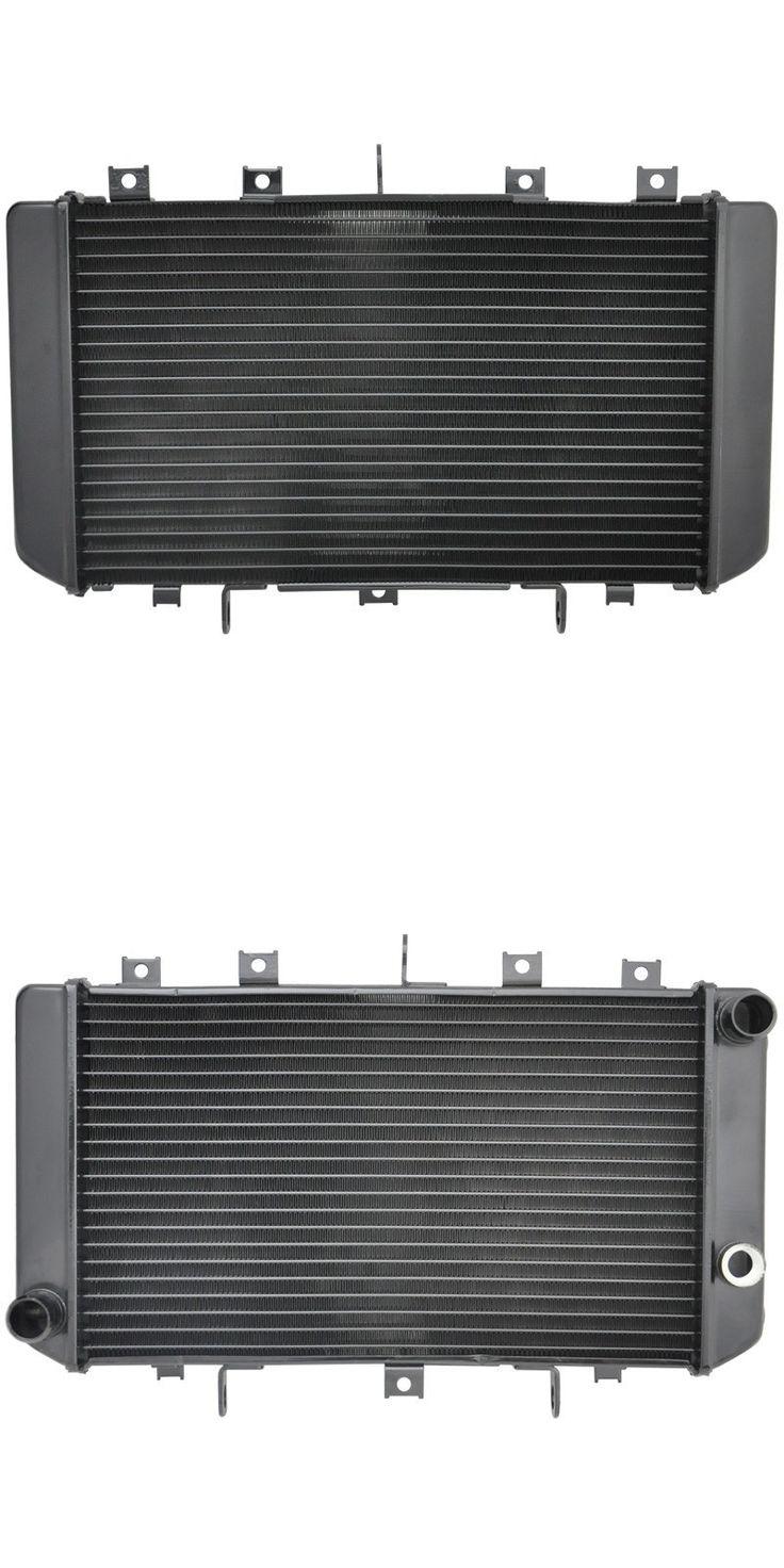 Motorcycle Aluminium Cooling Cooler Replacement Radiator For Kawasaki Z750 2004 2005 2006 Z750S Z750 S 2005 2006 2007