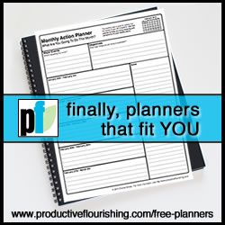 The Free Planners for November 2013 Are Available - Productive Flourishing