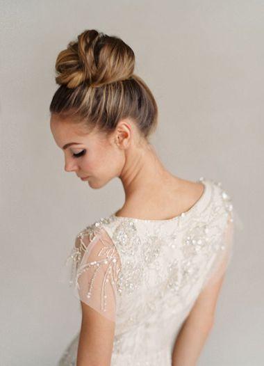 Peachy 1000 Ideas About Wedding Bun Hairstyles On Pinterest Wedding Hairstyle Inspiration Daily Dogsangcom