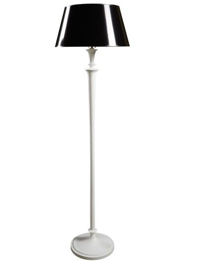 Thompson Floor Lamp  Metal, Paper, Floor Lamp by Curated Kravet
