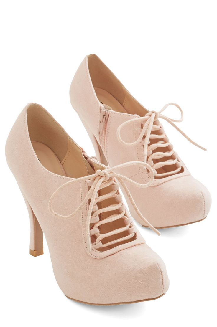 Can't Stop Blushing Heels ♥