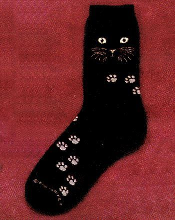 Cat Socks from Critter Socks