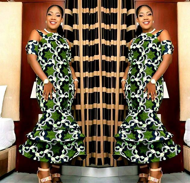 Zaineey's Blog : Here are Fabulous Ankara Gown Styles You Should Ro...