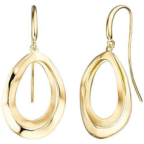 Damen-Ohrschmuck Ohrhänger / Ohrhaken vergoldet Silber Dreambase http://www.amazon.de/dp/B0147RKT9I/?m=A105NTY4TSU5OS
