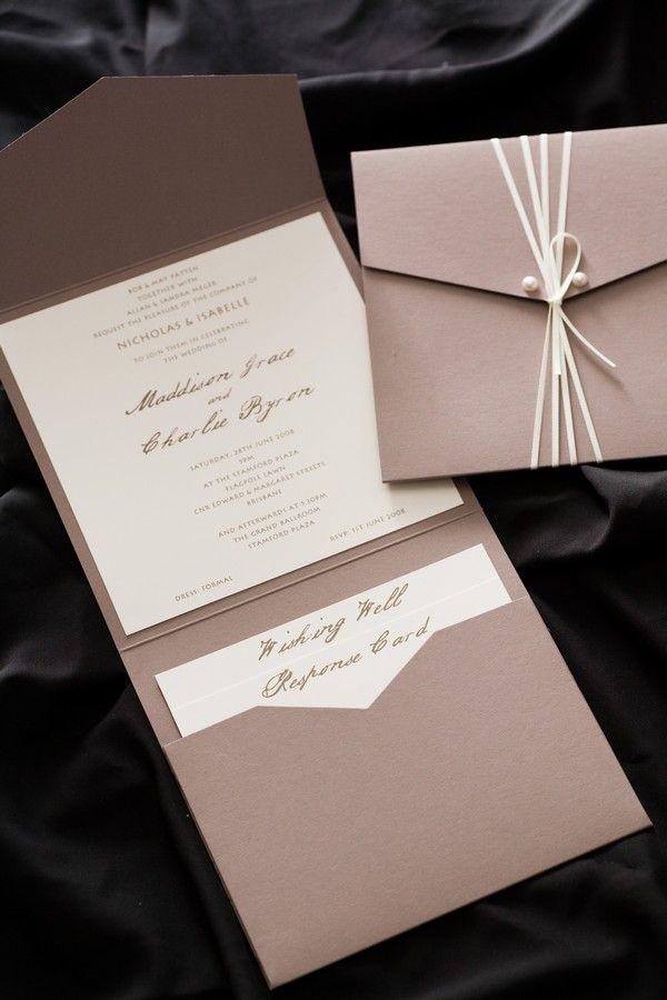 Wedding invitation - good source of inspiration - located QLD