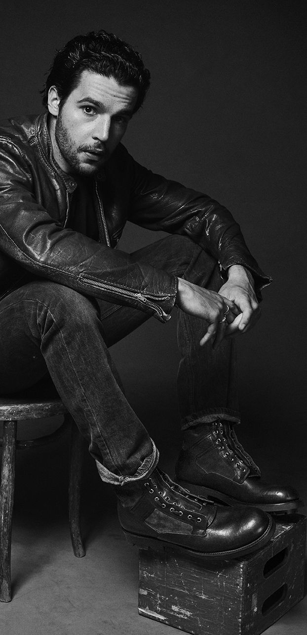 Christopher Abbott in the Jump Boot | The Frye Company