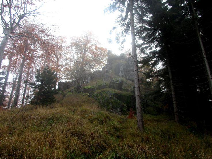 Jelení skála u Nové Huti, Severní Čechy