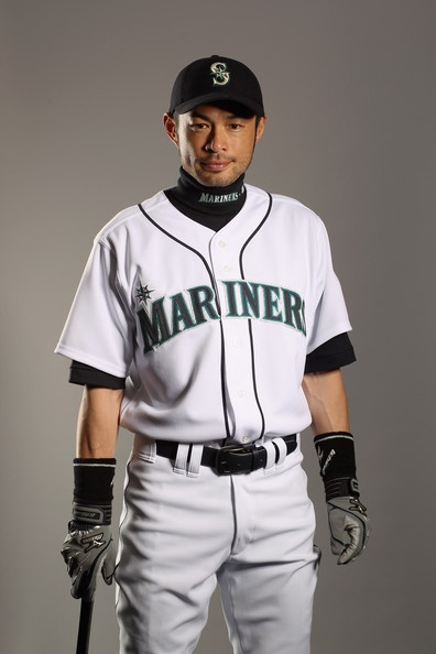 Ichiro, when he was still with the Seattle Mariners <3