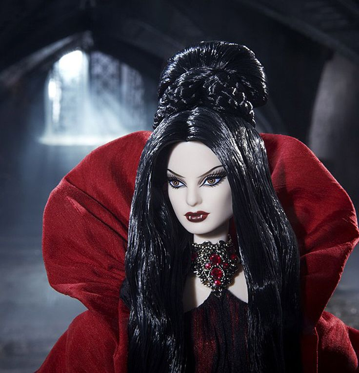 Limited Edition Haunted Beauty Vampire Barbie Is Goth and Gorgeous.   I want thus ken too.