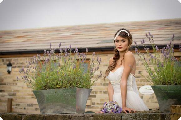 Tiara / Brooch Bouquet - www.glorioustiaras.co.uk Photo - www.jbroughton.co.uk Make-up - www.facebook.com/JakiAnnMakeup Dress - www.vintagelanebridal.com