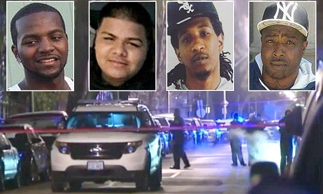 At least 58 people were shot in Chicago, Illinois, over Thanksgiving weekend,leaving eight dead as the city faces the highest number of homicides in more than a decade.