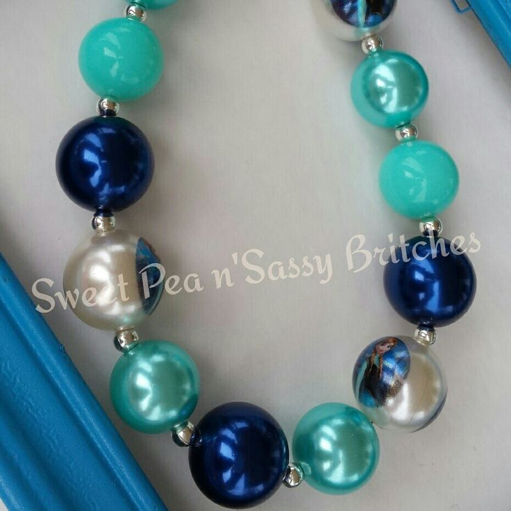 Frozen..Anna Chunky Necklace