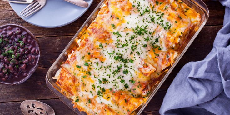 Make and share this Spicy Pork Enchiladas With Mole Sauce recipe from Genius Kitchen.
