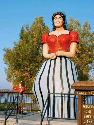 Paul Bunyan's girlfriend, Lucette, Hackensack, MN