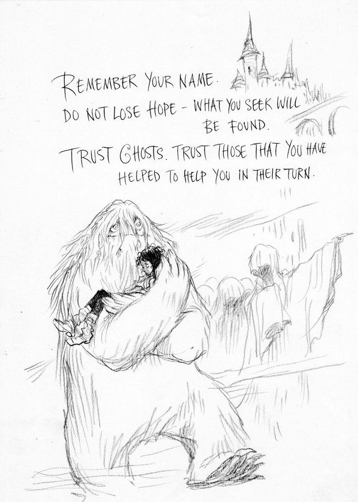 Sketchbook  U2014 The Instructions By Neil Gaiman