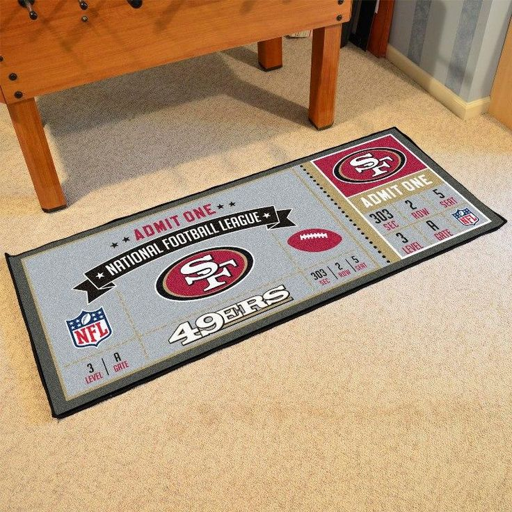 San Francisco 49ers Ticket Runner