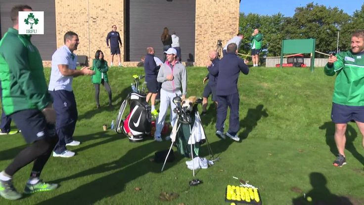 Irish Rugby TV: Grip It And Rip It With Luke Fitzgerald & Rory McIlroy