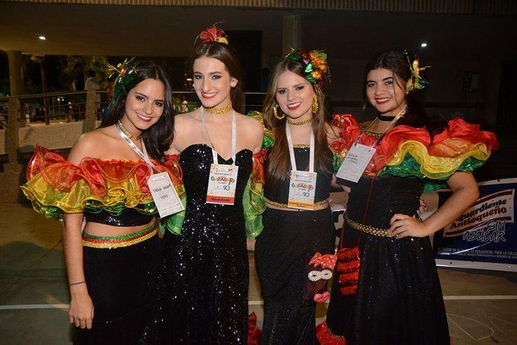 Salwa Maloof, Vanessa Lebolo, Juliana Nigrinis y Shadia Maraby