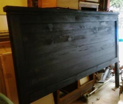 I think this is going to be a new project!?! We need a cheap king size headboard.....  Just gotta convince Steve!?!?!?!
