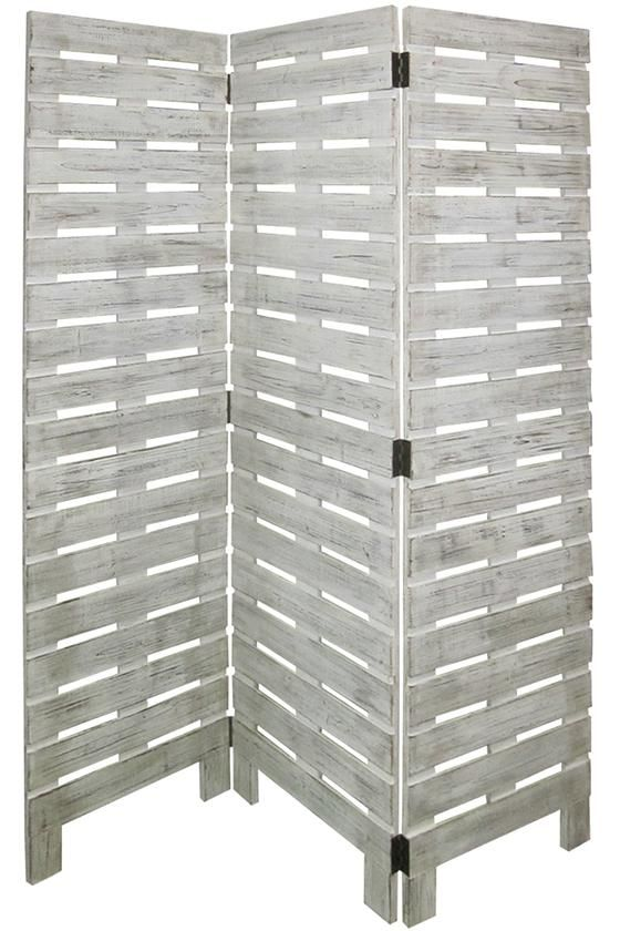 Garden Screen - Room Dividers - Room Partitions - Privacy Screen - Folding Screen - Three-panel Screen | HomeDecorators.com