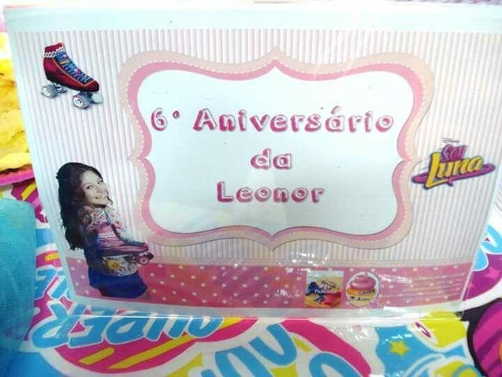 Decoração ao domicílio, tema Soy Luna a aniversariante foi a Leonor que fez 6 aninhos. Também quer uma decoração na sua casa? Reserve agora antes que esgote..