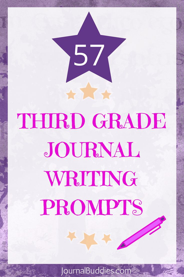 A fabulous listing of journaling prompts for 3rd graders. Discover new prompts for your students now! via @journalbuddies