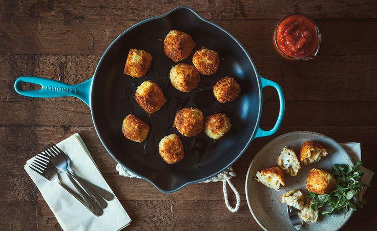Notre recette de Macaroni au fromage et au Brie — Semaine 6 : En bouchées | Natrel | Natrel