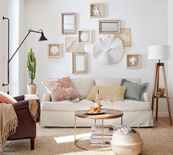 Miles Tripod Floor Lamp Livingroomlamps Coastal