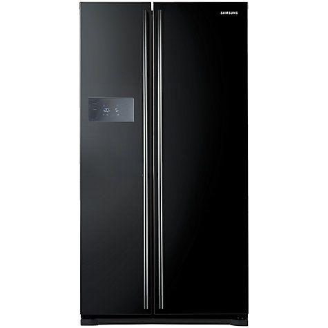 Buy Samsung RS7527BHCBC American Style Fridge Freezer, Gloss Black Online at johnlewis.com