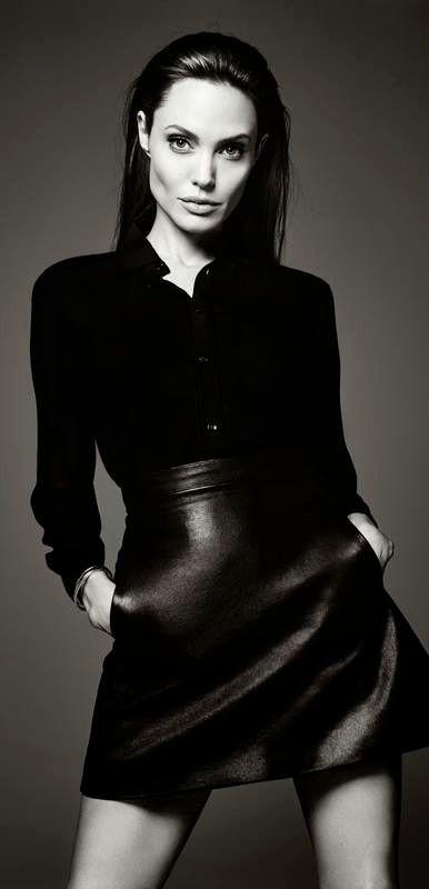 Celebrity style and beauty / karen cox. Angelina Jolie