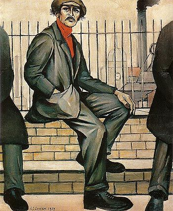L S Lowry Unemployed 1937