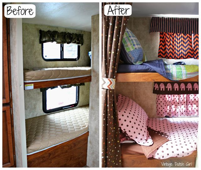 Travel Trailer Makeover, Part 9: Bunk Beds and Windows