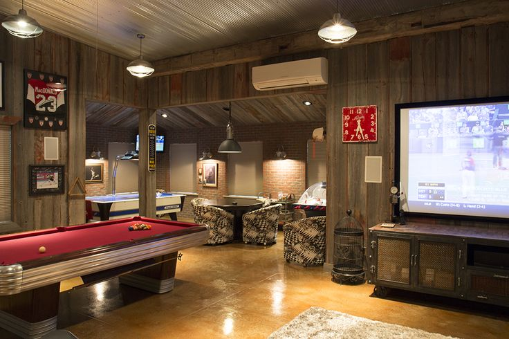 Man Cave Bar Cost : Morton buildings hobby garage interior in cass city