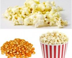 Popcorn has few calories and lots of antioxidants