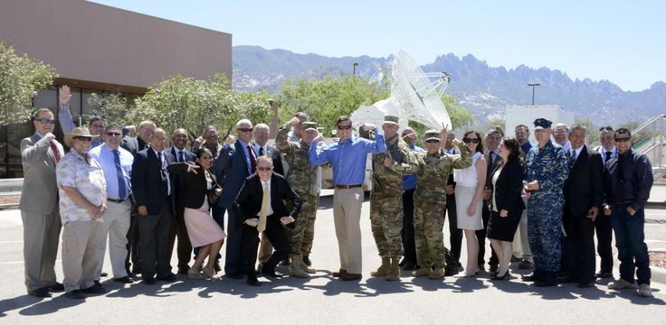 https://flic.kr/p/G8ao55 | Silly Photo | Acting Secretary of the Army and Under Secretary of the Army Patrick J. Murphy posed for a silly photo with White Sands Missile Range leadership, weapons testing subject matter experts and representatives from U.S. Senator Tom Udall's and Senator Martin Heinrich's office May 9. Murphy took some time to visit key areas at WSMR like the Cox Range Control Center and the High Energy Laser Systems Test Facility. He also received a first hand look at…